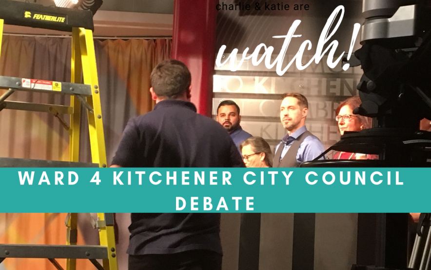 Watch Kitchener Ward 4 City Council Debate hosted by RogersTV